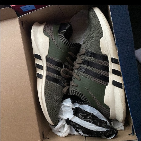adidas Shoes | Green Eqts Mens Size 12